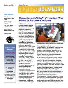 Autumn 2011 newsletter
