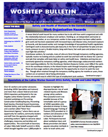 Winter 2012 newsletter