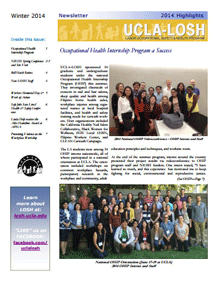 Winter 2014 Newsletter