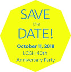 LOSH save the date