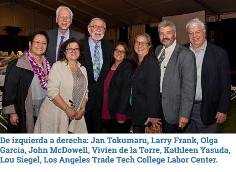ESP LATTC Labor Center group
